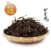 【那魯灣】傳統客家日曬豆仔乾5包  (長豆乾/100g/包)