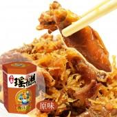 11【幸福小胖】海洋王宮小卷瑤柱絲 6罐 (原味/110g/罐)