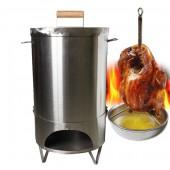 【三零四嚴選】特厚不鏽鋼桶仔雞烤桶(22公升/內容量)